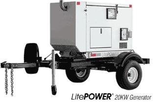 LitePOWER 20KW Generator