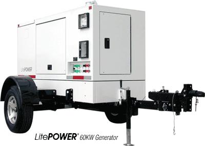 LitePOWER 60KW Generator